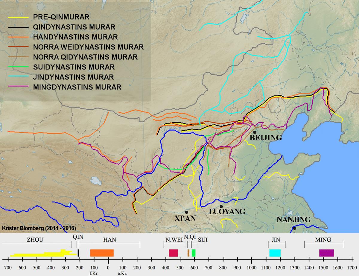 kart over den kinesiske mur Kan man gå hele den Kinesiske mur ?   Viralefilmer.no kart over den kinesiske mur